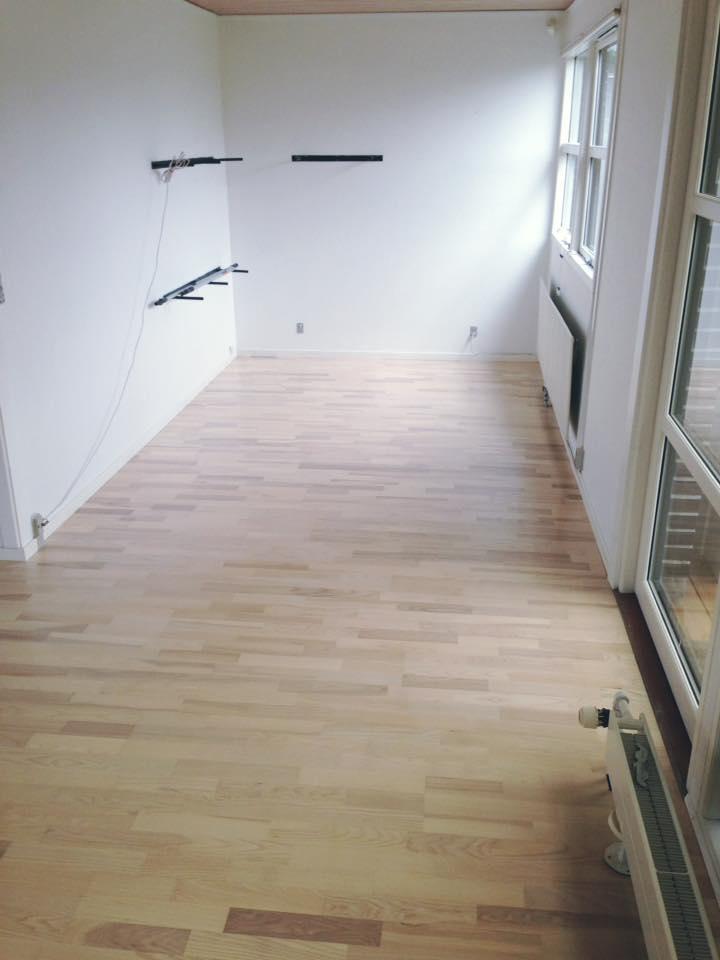 lyse gulve udført af gulvfirma i solrød.