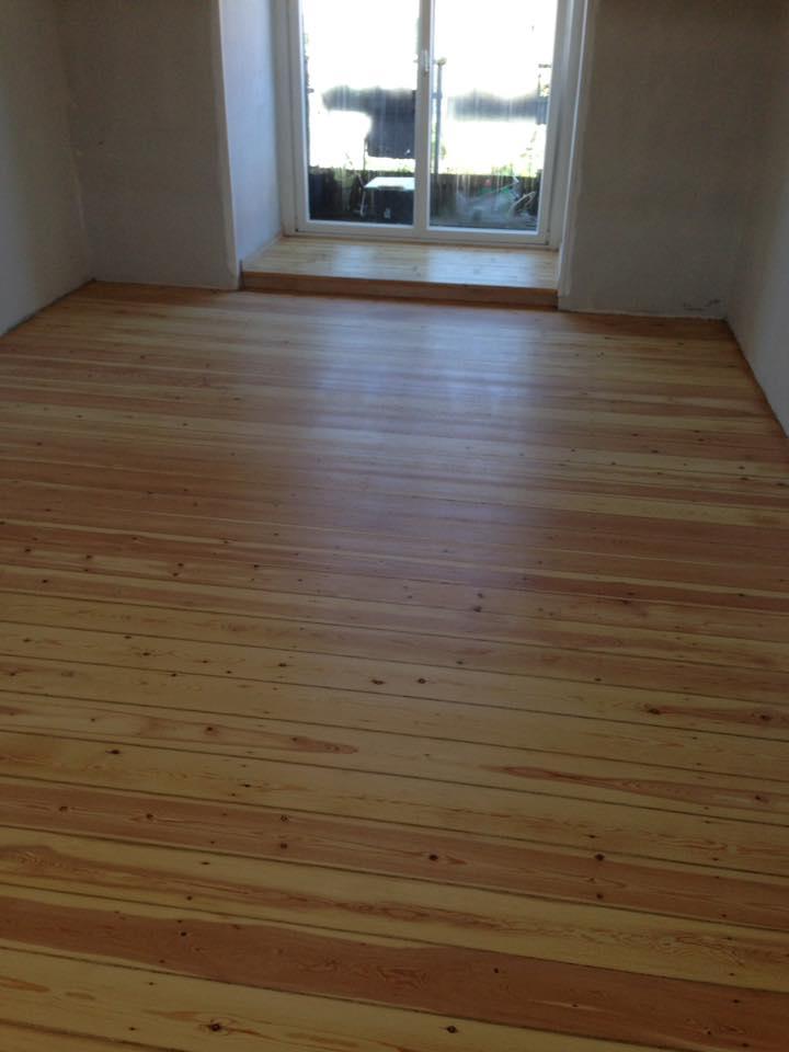 nyt gulv af solrød gulvservice
